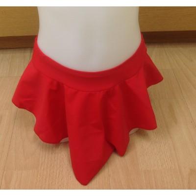 Falda patinaje Alanis color rojo